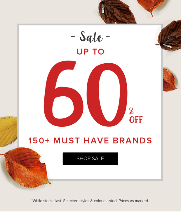Save up to 50% off sale items at The Iconic.